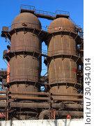 """Купить «JSC """"Satkinsky iron foundry"""". Old factory in Satka», фото № 30434014, снято 18 октября 2012 г. (c) Акиньшин Владимир / Фотобанк Лори"""