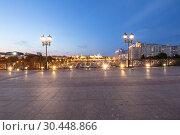 Купить «Kremlin (at night), Moscow, Russia--the most popular view of Moscow», фото № 30448866, снято 17 августа 2018 г. (c) Владимир Журавлев / Фотобанк Лори