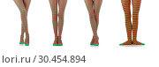 Купить «Woman with long legs and stockings», фото № 30454894, снято 28 ноября 2012 г. (c) Elnur / Фотобанк Лори