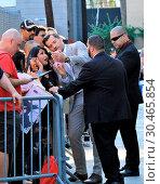 Celebrities outside the 'Jimmy Kimmel Live!' studios (2017 год). Редакционное фото, фотограф WENN.com / age Fotostock / Фотобанк Лори