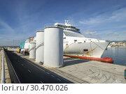 Ferry de Balearia, Mallorca, balearic islands, Spain. (2018 год). Редакционное фото, фотограф Tolo Balaguer / age Fotostock / Фотобанк Лори