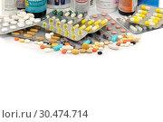 Купить «Таблетки и капсулы», эксклюзивное фото № 30474714, снято 20 февраля 2016 г. (c) Юрий Морозов / Фотобанк Лори