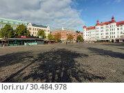Купить «Mollevangstorget, market square in Mollevangen, Malmo, Skane county, Sweden, Europe», фото № 30484978, снято 1 сентября 2018 г. (c) age Fotostock / Фотобанк Лори