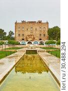 Купить «Zisa castle in Palermo», фото № 30488294, снято 20 марта 2019 г. (c) Роман Сигаев / Фотобанк Лори