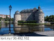 Orebro Castle, Sweden, Scandinavia, Europe. Стоковое фото, фотограф Michael Runkel / age Fotostock / Фотобанк Лори
