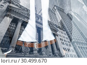 Купить «Corporate business, finance, stock market and economic prosperity conceptul collage.», фото № 30499670, снято 8 мая 2018 г. (c) Matej Kastelic / Фотобанк Лори