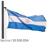 National flag of Argentina (2017 год). Стоковое фото, фотограф Яков Филимонов / Фотобанк Лори