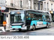 Купить «Iveco Urbanway», фото № 30500498, снято 14 марта 2019 г. (c) Art Konovalov / Фотобанк Лори