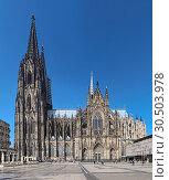 Купить «Кёльнский собор, Германия», фото № 30503978, снято 15 марта 2012 г. (c) Михаил Марковский / Фотобанк Лори