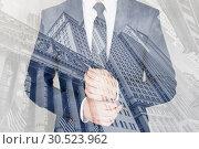 Купить «Corporate business, finance, stock market and economic prosperity conceptul collage.», фото № 30523962, снято 8 мая 2018 г. (c) Matej Kastelic / Фотобанк Лори