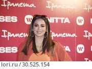 Купить «Brazilian Singer Anitta presents 'Ipanema' New Footwear Collection at Reina Sofia Museum on April 9, 2019 in Madrid, Spain», фото № 30525154, снято 9 апреля 2019 г. (c) age Fotostock / Фотобанк Лори