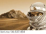 Купить «Serious middle eastern man», фото № 30537454, снято 1 июля 2011 г. (c) Tryapitsyn Sergiy / Фотобанк Лори