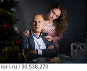 Купить «Man ignores woman after quarrel», фото № 30538270, снято 10 января 2019 г. (c) Яков Филимонов / Фотобанк Лори