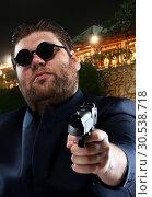 Mafia gangster. Стоковое фото, фотограф Tryapitsyn Sergiy / Фотобанк Лори