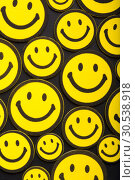 Купить «Yellow smileys», фото № 30538918, снято 6 августа 2012 г. (c) Tryapitsyn Sergiy / Фотобанк Лори