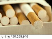 Купить «Cigarettes in pack», фото № 30538946, снято 10 августа 2012 г. (c) Tryapitsyn Sergiy / Фотобанк Лори