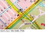 Купить «Map», фото № 30540794, снято 7 ноября 2013 г. (c) Tryapitsyn Sergiy / Фотобанк Лори