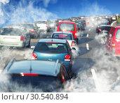 Traffic jam. Стоковое фото, фотограф Tryapitsyn Sergiy / Фотобанк Лори