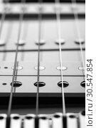 Купить «Electric guitar», фото № 30547854, снято 11 февраля 2014 г. (c) Tryapitsyn Sergiy / Фотобанк Лори