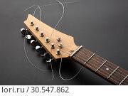 Купить «Electric guitar», фото № 30547862, снято 11 февраля 2014 г. (c) Tryapitsyn Sergiy / Фотобанк Лори