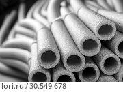 Insulation for pipes. Стоковое фото, фотограф Tryapitsyn Sergiy / Фотобанк Лори