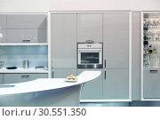 Купить «Modern kitchen», фото № 30551350, снято 11 марта 2015 г. (c) Tryapitsyn Sergiy / Фотобанк Лори