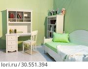Cute child room. Стоковое фото, фотограф Tryapitsyn Sergiy / Фотобанк Лори