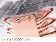 Купить «Computer processor cooler or radiator», фото № 30551890, снято 14 июня 2011 г. (c) Tryapitsyn Sergiy / Фотобанк Лори