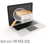 Data searching. Стоковое фото, фотограф Tryapitsyn Sergiy / Фотобанк Лори