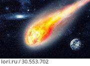 Asteroid in space. Стоковое фото, фотограф Tryapitsyn Sergiy / Фотобанк Лори