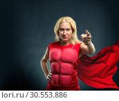 Купить «Strong woman», фото № 30553886, снято 19 сентября 2015 г. (c) Tryapitsyn Sergiy / Фотобанк Лори