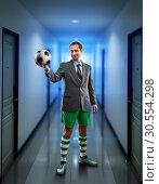 Купить «Businessman in sportwear», фото № 30554298, снято 16 декабря 2015 г. (c) Tryapitsyn Sergiy / Фотобанк Лори