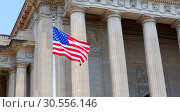 Washington DC Monuments with USA. (2016 год). Стоковое фото, фотограф Tryapitsyn Sergiy / Фотобанк Лори