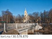 Купить «Храм святого Илии пророка на Пороховых. Санкт-Петербург», фото № 30578870, снято 14 апреля 2019 г. (c) Румянцева Наталия / Фотобанк Лори