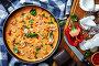 Купить «Shrimps in Coconut Sauce with blended vegetables», фото № 30607678, снято 5 апреля 2019 г. (c) Oksana Zh / Фотобанк Лори