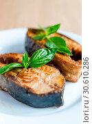 Купить «Fried fish», фото № 30610286, снято 21 июля 2013 г. (c) easy Fotostock / Фотобанк Лори