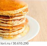 Купить «Pancakes», фото № 30610290, снято 21 июля 2013 г. (c) easy Fotostock / Фотобанк Лори