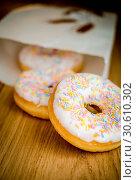 Купить «Donuts», фото № 30610302, снято 6 апреля 2013 г. (c) easy Fotostock / Фотобанк Лори