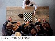 Купить «Business people playing chess», фото № 30631358, снято 5 июня 2016 г. (c) easy Fotostock / Фотобанк Лори