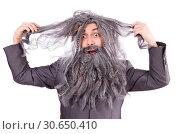 Old man in funny concept. Стоковое фото, фотограф Elnur / Фотобанк Лори