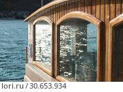 Купить «Exterior of a cabin on yacht, Perast, Bay of Kotor, Montenegro», фото № 30653934, снято 10 сентября 2017 г. (c) Ingram Publishing / Фотобанк Лори