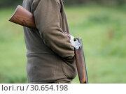 Купить «12 bore side by side shotgun», фото № 30654198, снято 6 сентября 2017 г. (c) Ingram Publishing / Фотобанк Лори