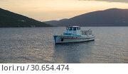 Купить «Fishing boat in Bay of Kotor, Montenegro», фото № 30654474, снято 19 октября 2019 г. (c) Ingram Publishing / Фотобанк Лори