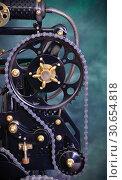 Купить «Chain drive», фото № 30654818, снято 21 апреля 2019 г. (c) Валерий Александрович / Фотобанк Лори