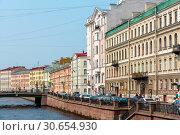 Купить «Канал Грибоедова. Санкт-Петербург», эксклюзивное фото № 30654930, снято 24 июля 2016 г. (c) Александр Щепин / Фотобанк Лори