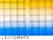 Купить «Sheet of engineering graph grid paper. Simple background texture for template, design or art.», фото № 30659618, снято 26 апреля 2019 г. (c) bashta / Фотобанк Лори