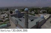 Купить «Съёмка с дрона мечети в Душанбе. Таджикистан.», видеоролик № 30664386, снято 31 июля 2016 г. (c) kinocopter / Фотобанк Лори