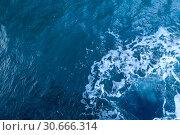 Купить «Вода. Фон. Вид сверху», фото № 30666314, снято 20 сентября 2016 г. (c) Татьяна Белова / Фотобанк Лори