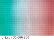 Купить «Sheet of engineering graph grid paper. Simple background texture for template, design or art.», фото № 30666830, снято 26 апреля 2019 г. (c) bashta / Фотобанк Лори