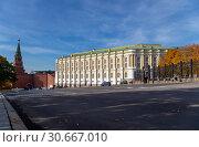 Купить «Inside of Moscow Kremlin, Russia (day).», фото № 30667010, снято 16 октября 2018 г. (c) Владимир Журавлев / Фотобанк Лори